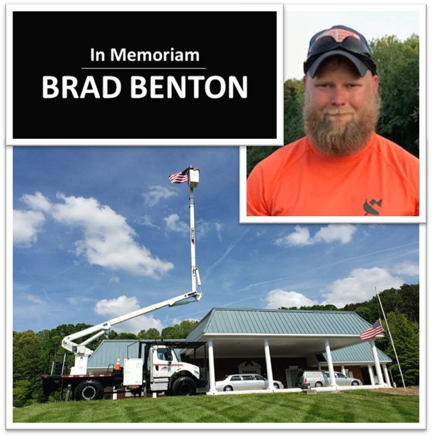 In memory of  a loved utility arborist