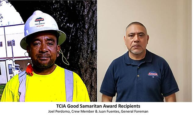 Tree Care Industry Association Good Samaritan Recipients