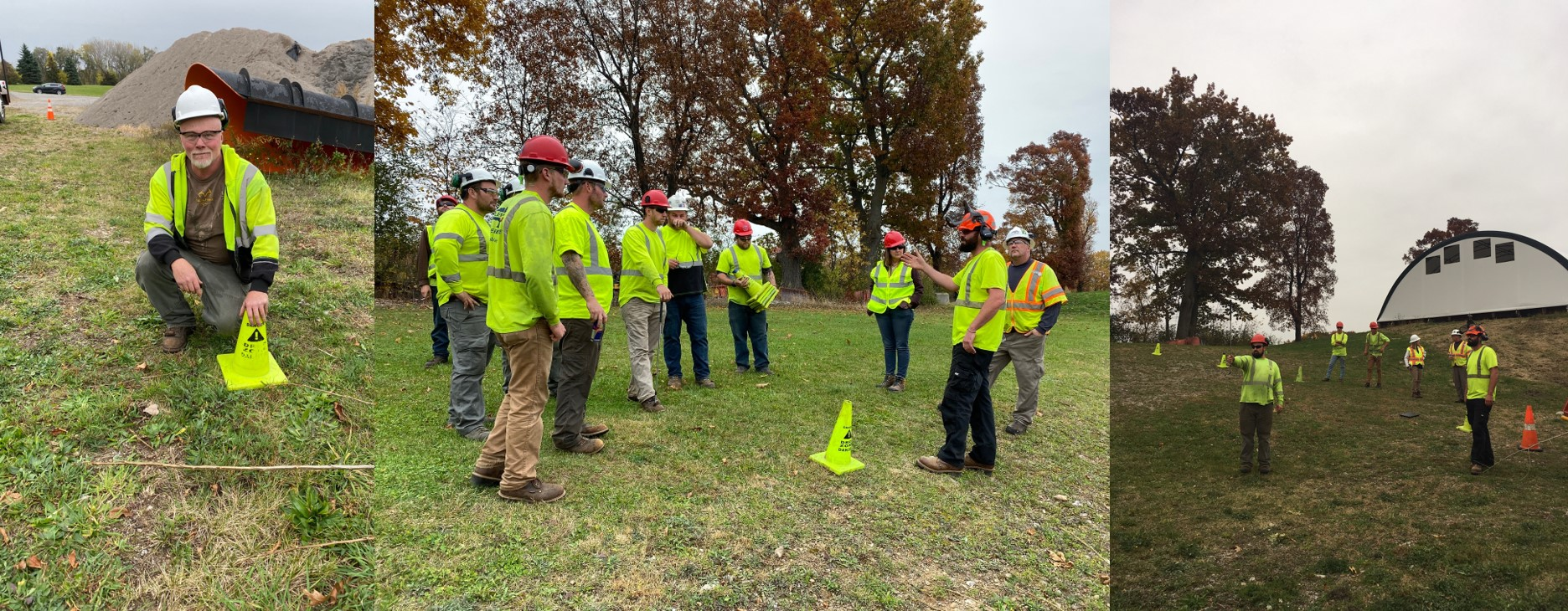 Utility Line Clearance Skill Drill Training