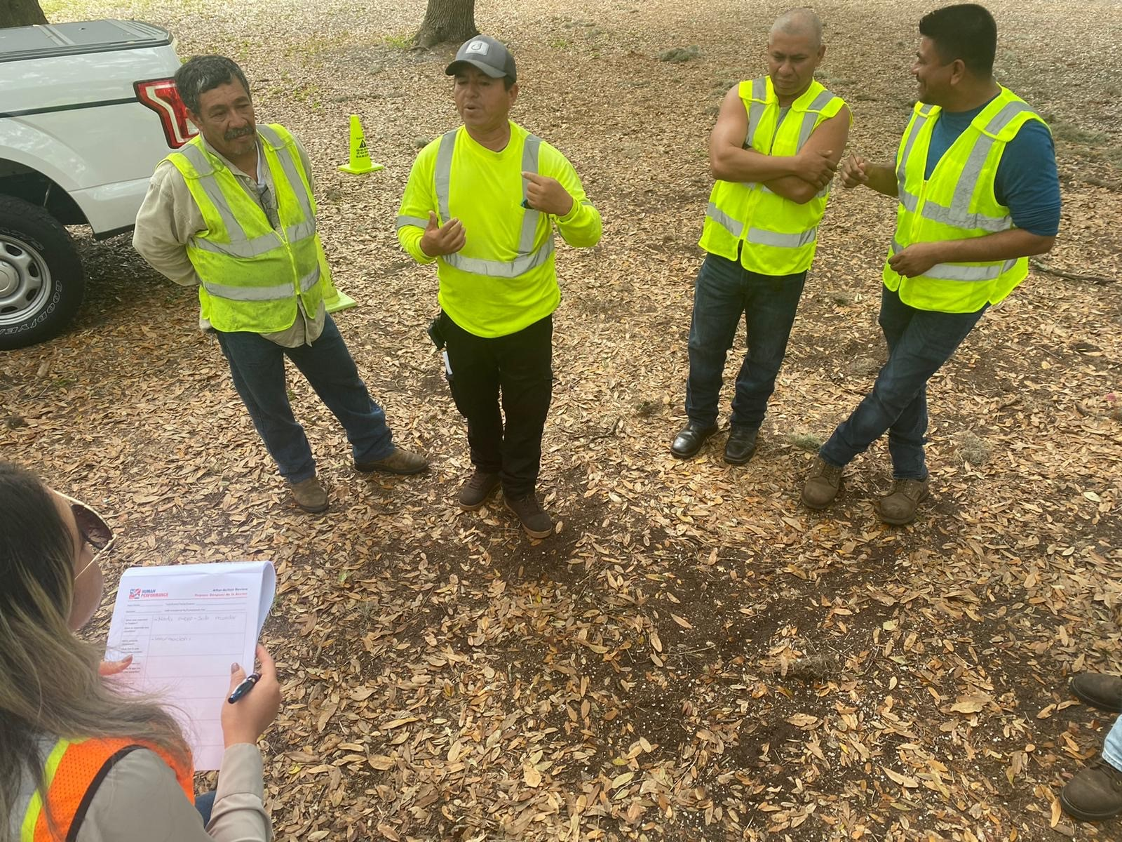 Small group discussion utility vegetation management Florida